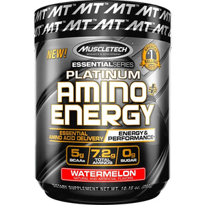 MuscleTech Platinum Amino Energy 288g Watermelon