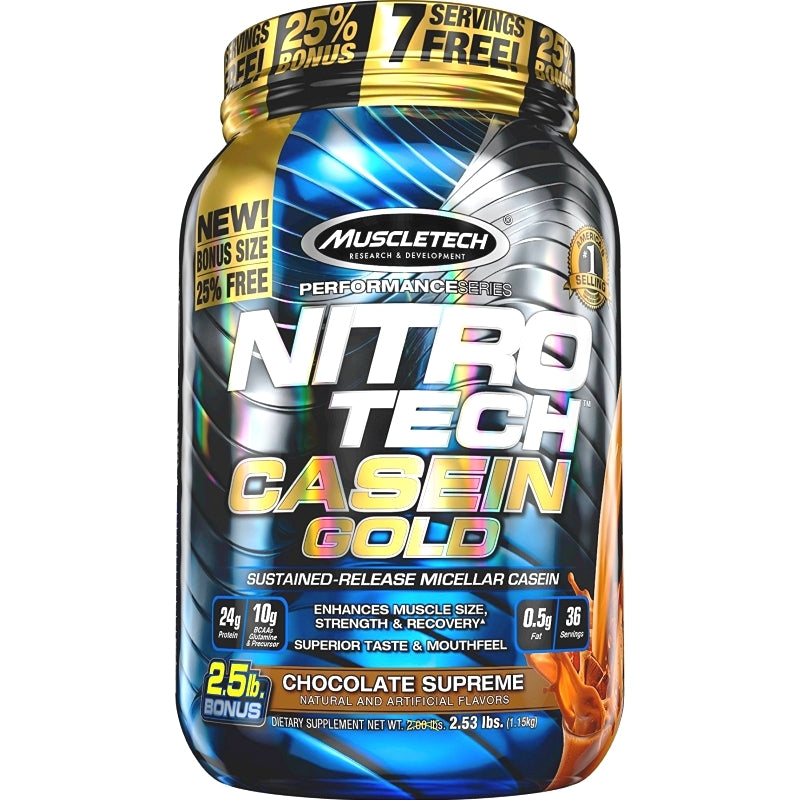 MuscleTech Nitro Tech Casein Gold 2.5 lbs