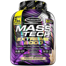 Load image into Gallery viewer, MuscleTech Mass Tech Extreme 2000 7 lbs Vanilla Milkshake