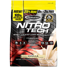 Load image into Gallery viewer, MuscleTech Nitro Tech 10 lbs