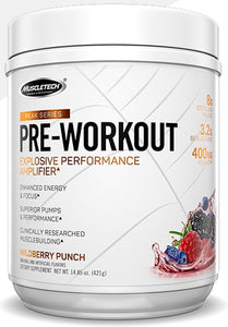 MuscleTech Peak Series Pre-Workout 25 servings