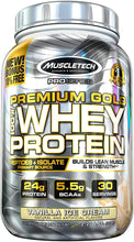 Load image into Gallery viewer, MuscleTech Pro Series Premium Gold Whey Protein 2.2 lbs