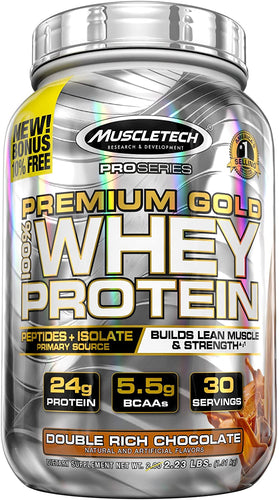 MuscleTech Pro Series Premium Gold Whey Protein