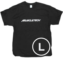 Load image into Gallery viewer, MuscleTech Plain Tee Black