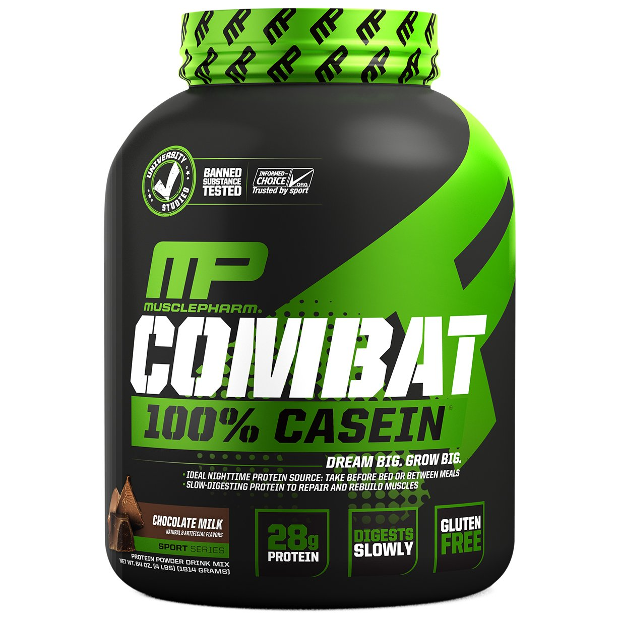 MusclePharm Combat Casein 4 lbs