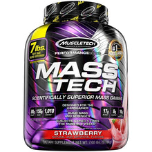 Load image into Gallery viewer, MuscleTech Mass Tech 7 lbs Strawberry