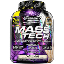 Load image into Gallery viewer, MuscleTech Mass Tech 7 lbs Vanilla