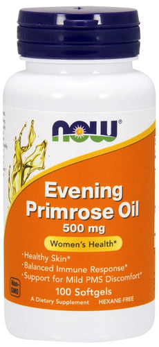 NOW Evening Primrose Oil 100 softgels