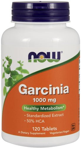 NOW Garcinia 120 tablets