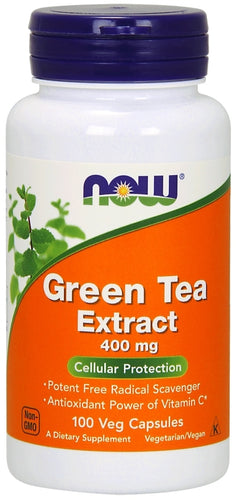 NOW Green Tea Extract 100 capsules