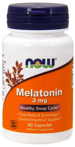 NOW Melatonin 60 capsules