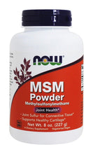 Load image into Gallery viewer, NOW MSM Powder 227g 126 Servings
