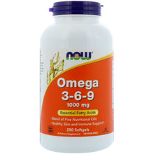 Load image into Gallery viewer, NOW Omega 369 250 softgels
