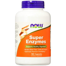 Load image into Gallery viewer, NOW Super Enzymes 180 tablets