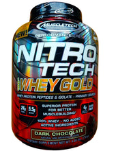 Load image into Gallery viewer, MuscleTech Nitro Tech Whey Gold 4 lbs