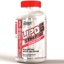 Load image into Gallery viewer, Nutrex Lipo6 Stim Free 120 veggie liquid capsules