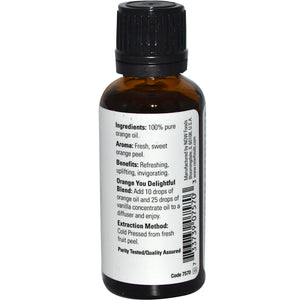 NOW Essential Oil 30 ml Orange Oil
