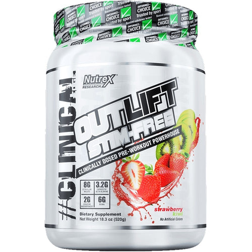 Nutrex Outlift Stim-Free Pre-Workout 520g