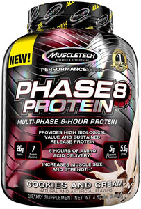 MuscleTech Phase8 Multi-Phase 8-Hour Protein 4.6 lbs