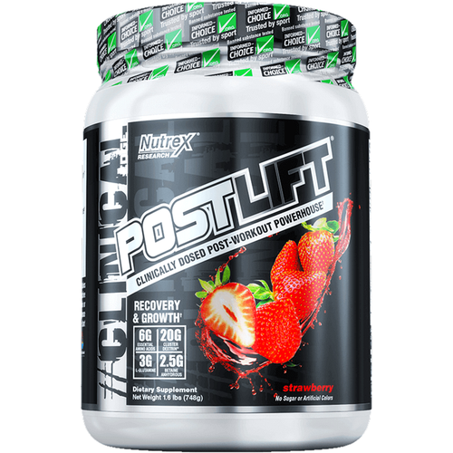 Nutrex Postlift Post-Workout 748g Strawberry