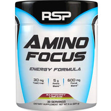 Load image into Gallery viewer, RSP Nutrition Amino Focus 225g Raspberry Limeade
