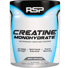 Load image into Gallery viewer, RSP Nutrition Creatine Monohydrate 300g