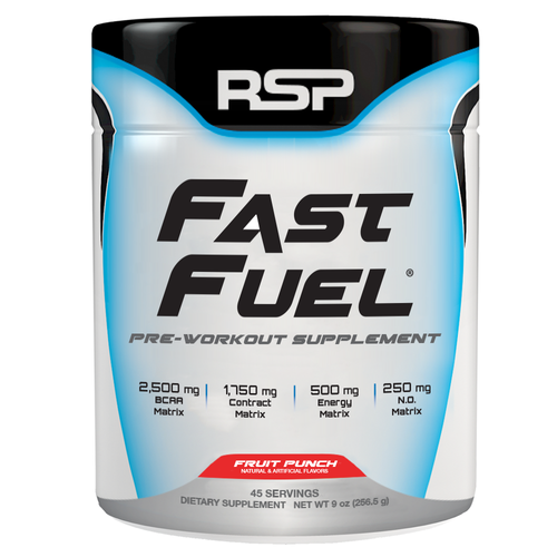 RSP Nutrition Fast Fuel 279g Fruit Punch