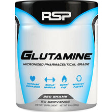 Load image into Gallery viewer, RSP Nutrition Glutamine 250g