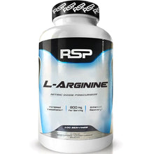 Load image into Gallery viewer, RSP Nutrition L-Arginine 100 capsules