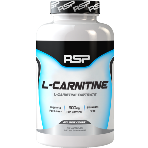 RSP Nutrition L-Carnitine 60 capsules