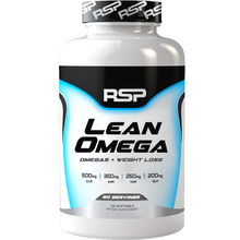 Load image into Gallery viewer, RSP Nutrition Lean Omega 120 softgels