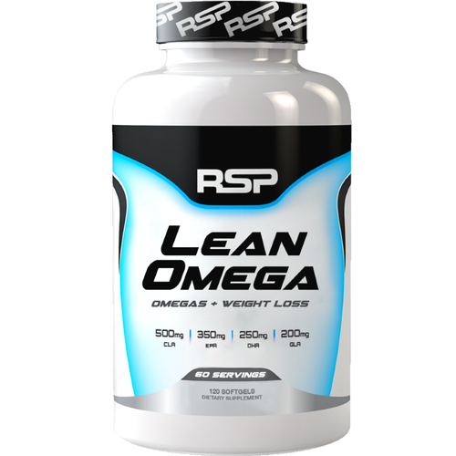 RSP Nutrition Lean Omega 120 softgels