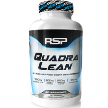 Load image into Gallery viewer, RSP Nutrition QuadraLean 150 capsules