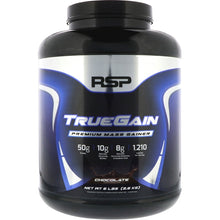 Load image into Gallery viewer, RSP Nutrition TrueGain 6 lbs Chocolate