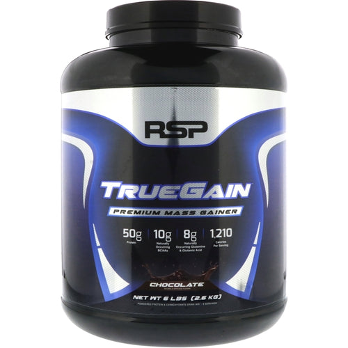RSP Nutrition TrueGain 6 lbs Chocolate