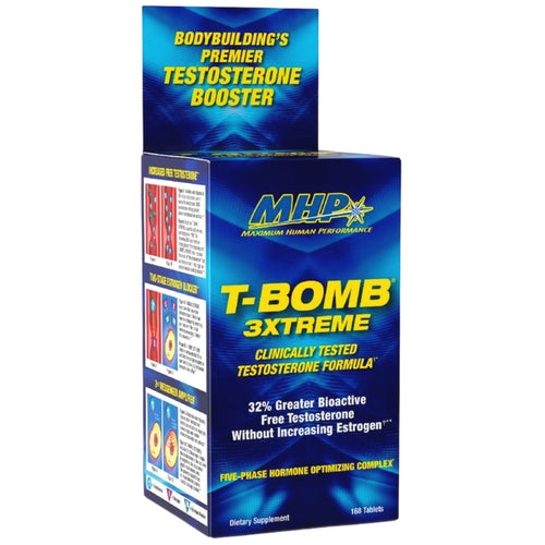 MHP Clinical Strength T-Bomb 3Xtreme 168 tablets
