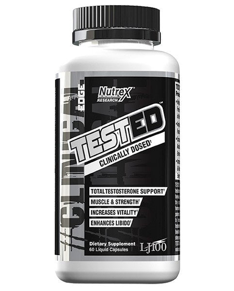 Nutrex Tested Clinically Dosed Testosterone Support 60 liquid capsules