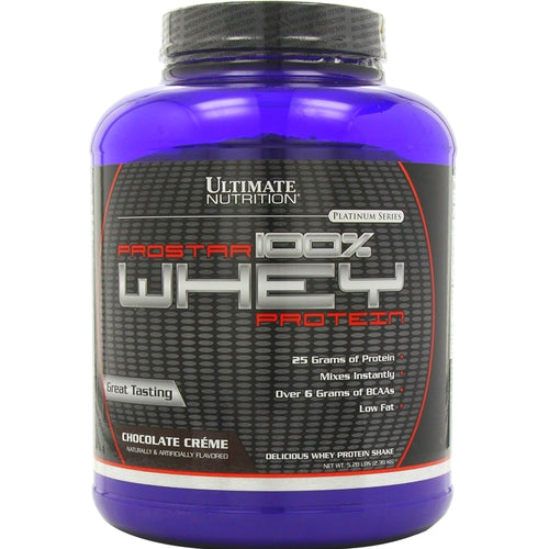 Ultimate Nutrition ProStar 100% Whey Protein 5.28 lbs Chocolate Creme