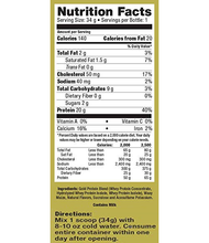 Load image into Gallery viewer, Ultimate Nutrition Whey Gold 34g Chocolate sf