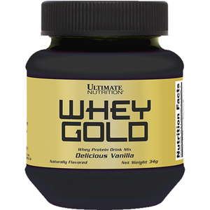 Ultimate Nutrition Whey Gold 34g Vanilla
