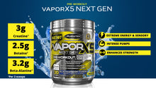Load image into Gallery viewer, MuscleTech Vapor X5 Next Gen 30 servings (Intl Version)