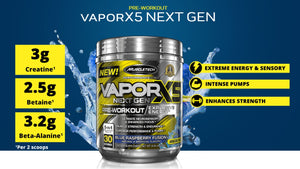 MuscleTech Vapor X5 Next Gen 30 servings (Intl Version)