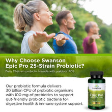 Load image into Gallery viewer, Swanson Epic Pro 25-Strain Probiotic 30 Veg DRcap