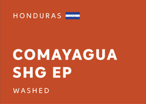 HONDURAS Comayagua SHG EP (Washed) - Whole Beans