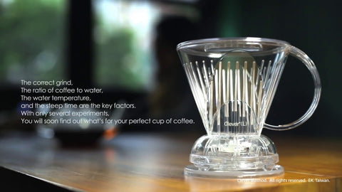 Mr. Clever Coffee Dripper (2 Sizes)