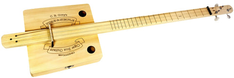 CB Gitty Pure & Simple (fretted) Cigar Box Guitar Kit