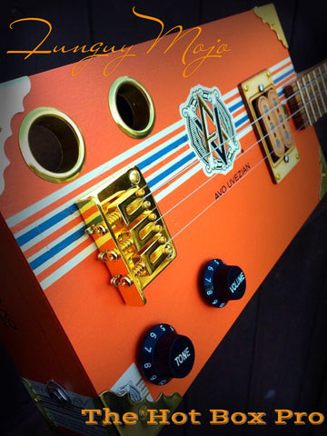 Orange Crush AVO Three String Hot Box Pro