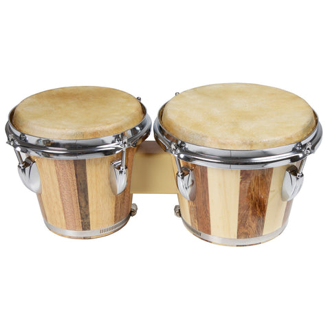 X8 Wood Key Tuned Two Tone Bongos