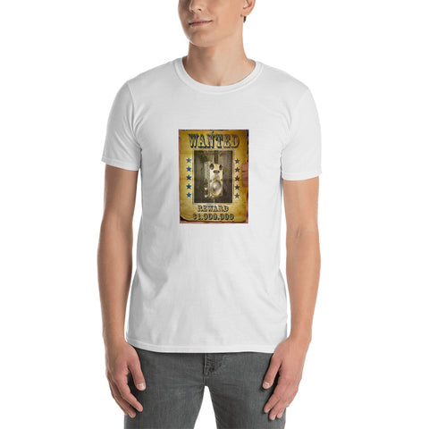 Funguy Mojo Wanted Poster Short-Sleeve Unisex T-Shirt