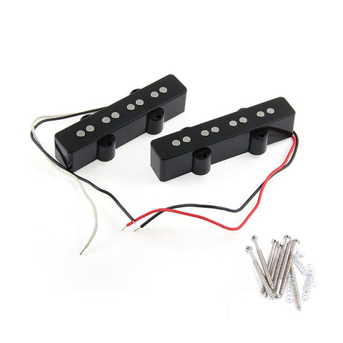 Set of 2 Jazz Bass pickups neck and bridge